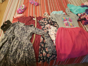 Variety of girls clothes size 7/8