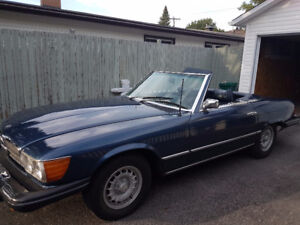 Restored Mercedes Hard Top Convertible