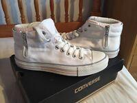 Hi-Top White Converse