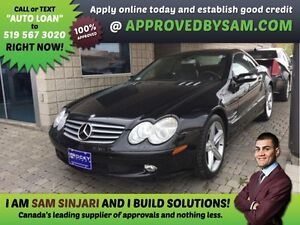 SL500 CONVERTIBLE - APPLY WHEN READY TO BUY @ APPROVEDBYSAM.COM