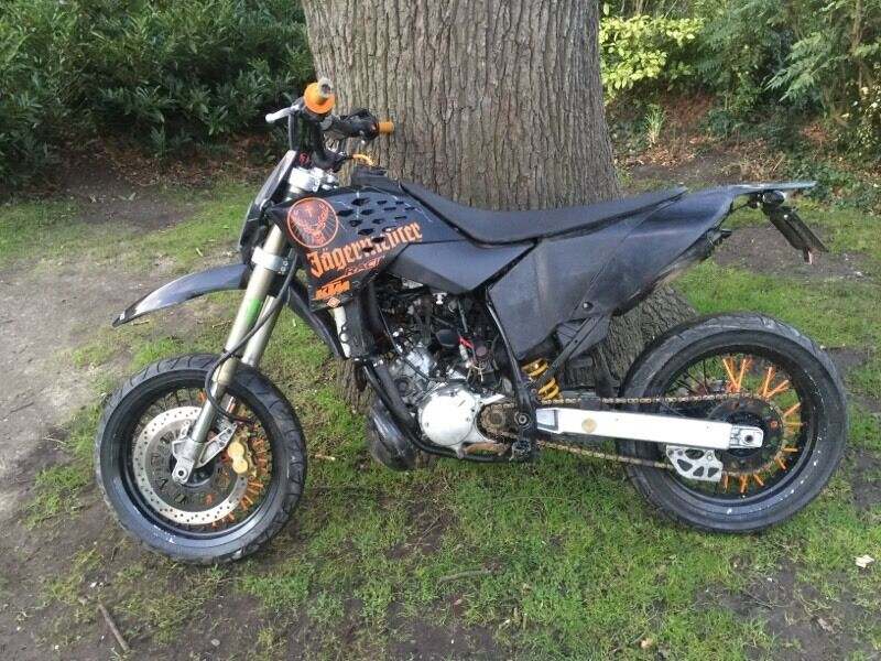 12m mot ktm 125 supermoto 2 stroke exc sx cr rs like. Black Bedroom Furniture Sets. Home Design Ideas