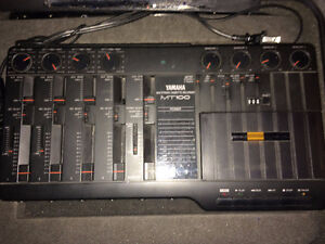 Yamaha MT100 Multitrack cassette recorder 4 track with hard case