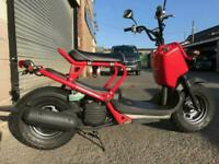 2003 JDM Honda Zoomer in fire engine red