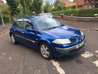 2006 MEGANE DYNAMIQUE 1.6L 5-DOOR MOTD JAN 2017 £1250