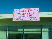 Kapty Welding Ltd - Shop and Portable welding