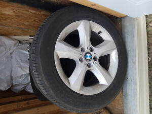 X5 Clean MAGS with 4 Season Tires 255/55 R18