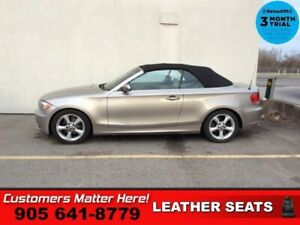 2009 BMW 1 Series 128i  CONVERTIBLE BEIGE LEATHER