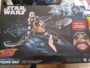 Air hogs star wars rc speeder bike