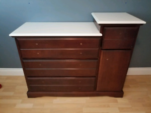 Child bedroom dresser-solid wood *childproof drawers*