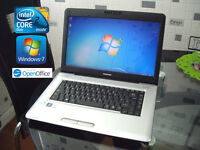 "Can Deliver - Toshiba Satellite Pro - Windows7 64Bit - 15.6"" - Intel 4.2Ghz - 250Gb - Office - Wifi"