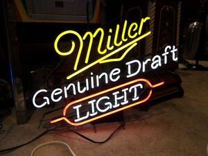 MILLER GENUINE DRAFT LIGHT NEON London Ontario image 2