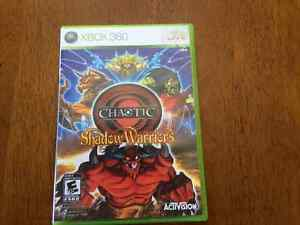 X box Chaotic Shadow Warriors game