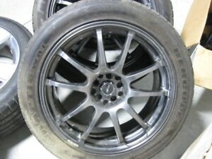 Rims and tires off 2005-2009 Mustang GT