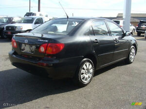 2004 toyota corolla part out