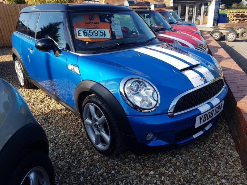 2008 Stunning Low Miles Mini Clubman Estate 16 Chili Pack 5d