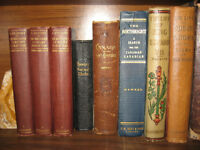 ANTIQUE BOOKS 1/2 PRICE SALE $25 TO $100 OR REASONABLE OFFER
