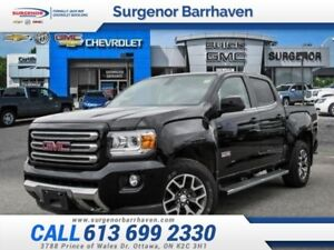 2015 GMC Canyon SLE  - All Terrain - 4x4 - $233 B/W