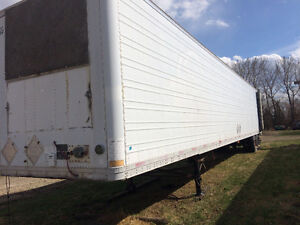 Excellent insulated trailer