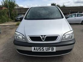 2005 Vauxhall Zafira MPV 1.6 16V 100 Life Petrol silver Manual