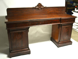 Buffet console sideboard acajou antique empire Mahogany 1880