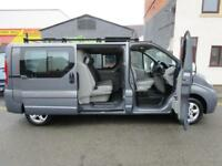 NO VAT Vauxhall Vivaro 2.0CDTi LWB sportive 6 seat factory fitted crew cab (7)