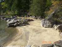 slocan lakefront co-op lot for sale