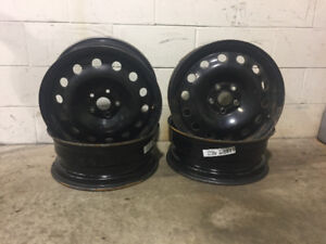 VW and Audi steel rims