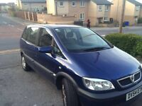 Vaxhall zafira 2005 for sale