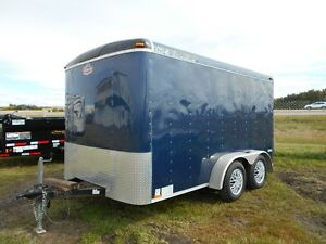 Used 2011 7'x12' Cargo Mate Enclosed Trailer
