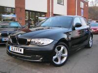 2011 11-Reg BMW 116i Sport,MET BLACK,GEN 63,000 MILES ONLY,FULL SERVICE HISTORY!