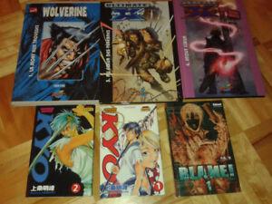 Lot manga et BD FR