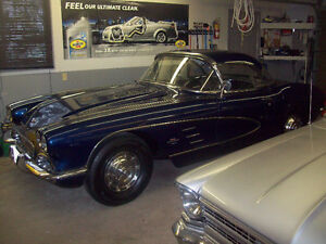 1961 Chevrolet Corvette hardtop and soft top owned 30 + years