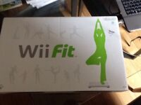 Wii CONSOLE & Wii FIT BOARD & GAMES