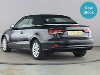 2016 Audi A3 1.4 TFSI 150 SE 2dr S Tronic CONVERTIBLE Petrol Automatic