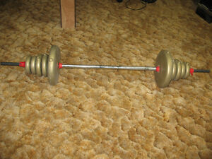 SET BARBELL WEIGHTS