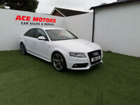 2011 AUDI A4 2.0 TDI S- LINE BLACK EDITION.ONLY 71,000 MILES WITH FULL SERV HIST