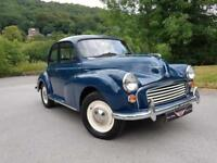 1970 MORRIS MINOR 1000, Looks and drives very well, 1 former keeper on v5!