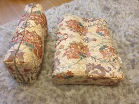 Caravan cushions and material