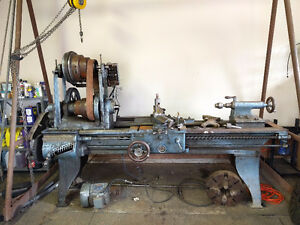 Antique 1895 Hendey Engine Lathe