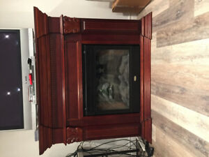 Colman electric fireplace