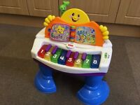 Fisher Price piano and activity table