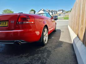 06 audi A4 Sline quattro 3.2FSI convertible 6 speed manual,