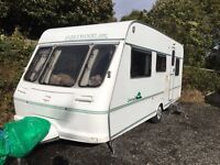 2000 fleetwood countryside 5 berth caravan