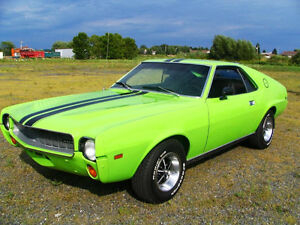 AMX - AMC 1968 - Big Bad Green– completely restored
