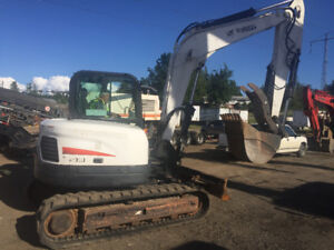 2011 Bobcat E80 Midi Excavator for sale