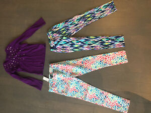 Size 7 youth girl - winter clothes & pajamas