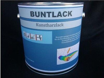 (10,39€/L.) Buntlack RAL 7037 Staubgrau Seidenglänzend 2,5 Liter
