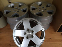 Jeep Rims (5) in perfect shape!