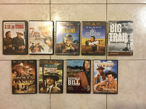 WESTERNS!  Many DVDs for sale - all in excellent used condition.