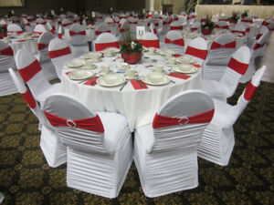 White Chair Covers For Rent